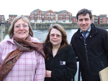 Our new Drypool team councillors Linda Chambers, Anjie Wastling  and Adam Williams