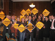 Nick Russell and his succcessfull Kentish town team