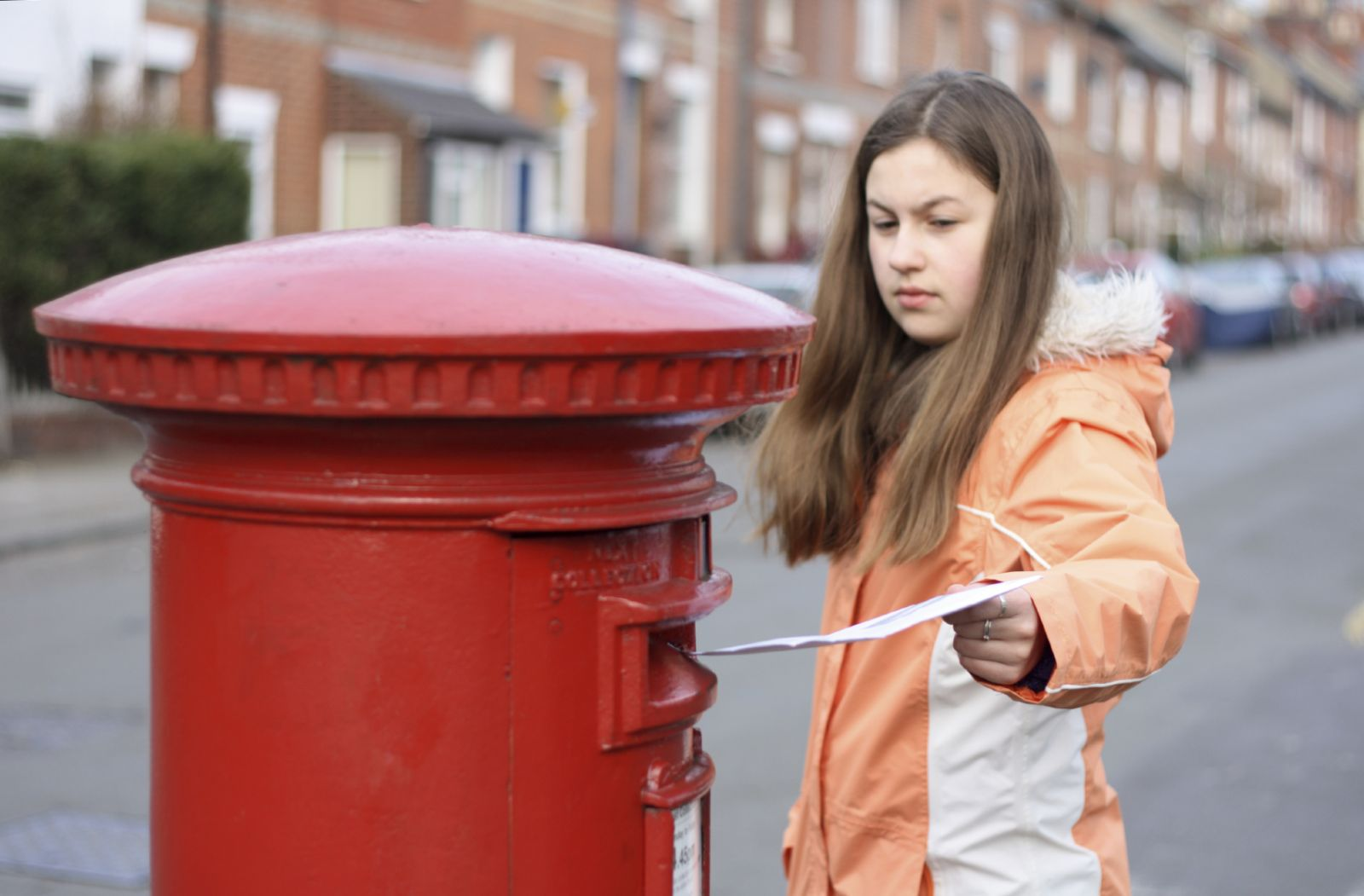 Posting-Letter-Woman