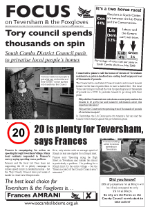Teversham's first A3 of the campaign