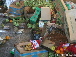 Thousands of tonnes of food are wasted every month - a shared responsibility