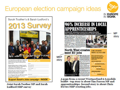 Build Up Blog: In Europe, In Work – campaigning on Europe today