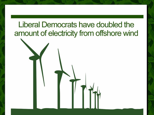 Liberal Democrats remain the most committed of all main parties to environmental protection and a sustainable future