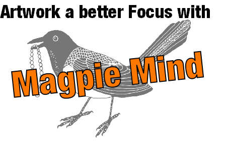Build up blog: Artwork a better Focus with Magpie Mind
