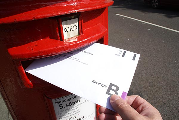 Getting Out Your Postal Vote