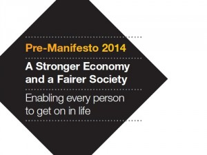 The pre-manifesto contains policy ideas that will be discussed at the party's federal conference in Glasgow