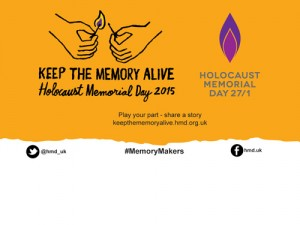Holocaust Memorial Day is on January 27th