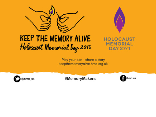 Keeping the Memory Alive – Holocaust Memorial Day (Jan 27)