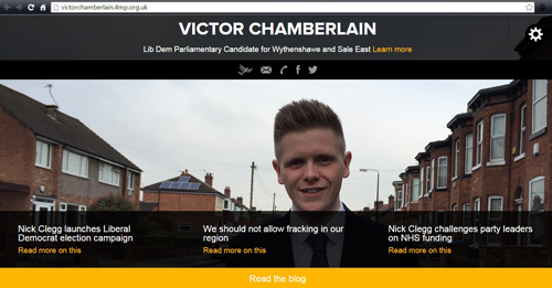 Victor Chamberlain's 4MP website