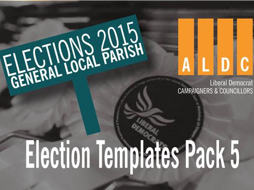 ALDC Election Templates Pack 5