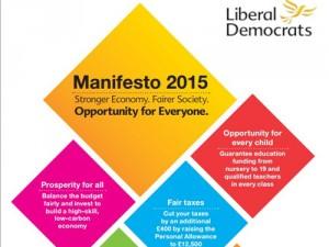 The Liberal Democrat 2015 Manifesto Cover