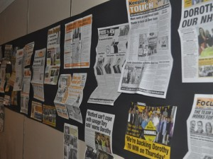 Local members added their own artwork to our 'Focus Wall' collection throughout the day