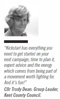 Council Group Leader Trudy Dean on ALDC Kickstart attendance