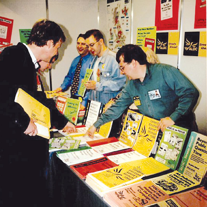 1998 Conference Stand