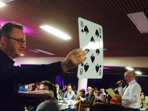 ALDC's Fighting Fund received donations via a fundraising game of 'Play Your Cards Right'