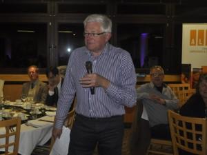 Lord Mike German addressed the Kickstart Dinner on Saturday 5th Sept
