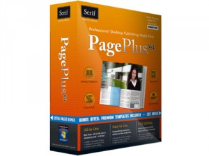 Serif Pageplus is the party's recommended desktop publishing software