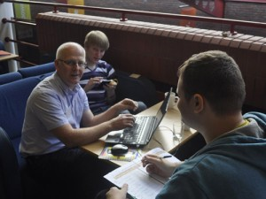 Sept Kickstart - The Preston group in a planning session