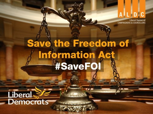 Save the Freedom of Information Act – Petition