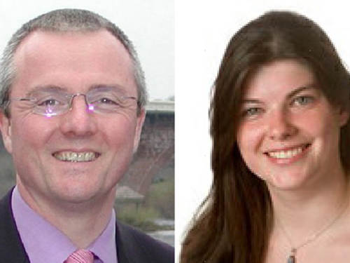Cllrs Peter Barrett and Abi Bell have joined ALDC/ASLDC as our newest Development Officers