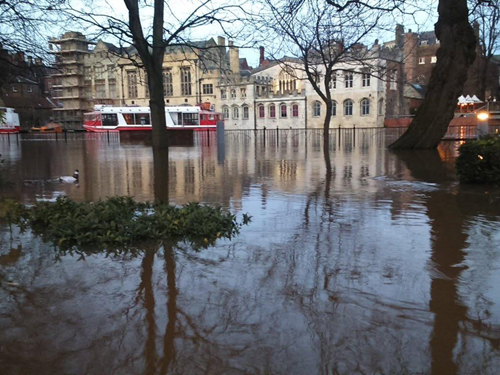 City of York after the Boxing Day floods