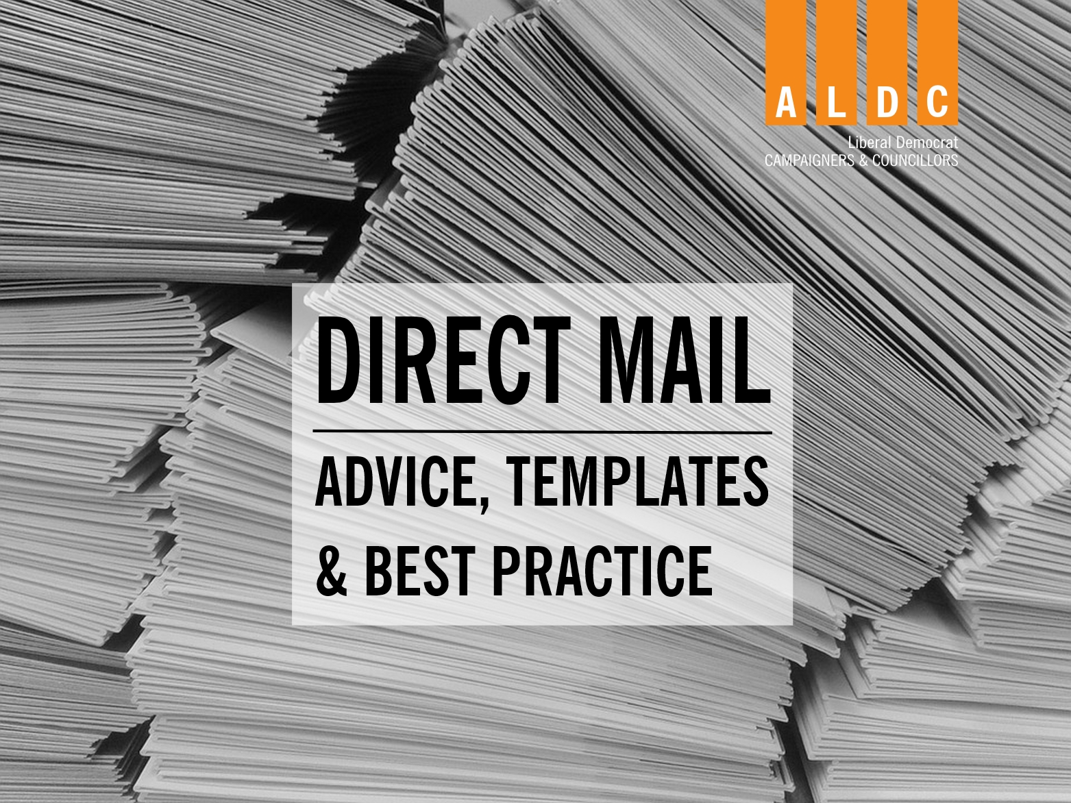 TEMPLATES: Targetting voters with Direct Mail