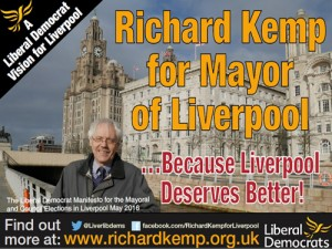 Richard Kemp and the Liverpool Lib Dems have released their 2016 Manifesto