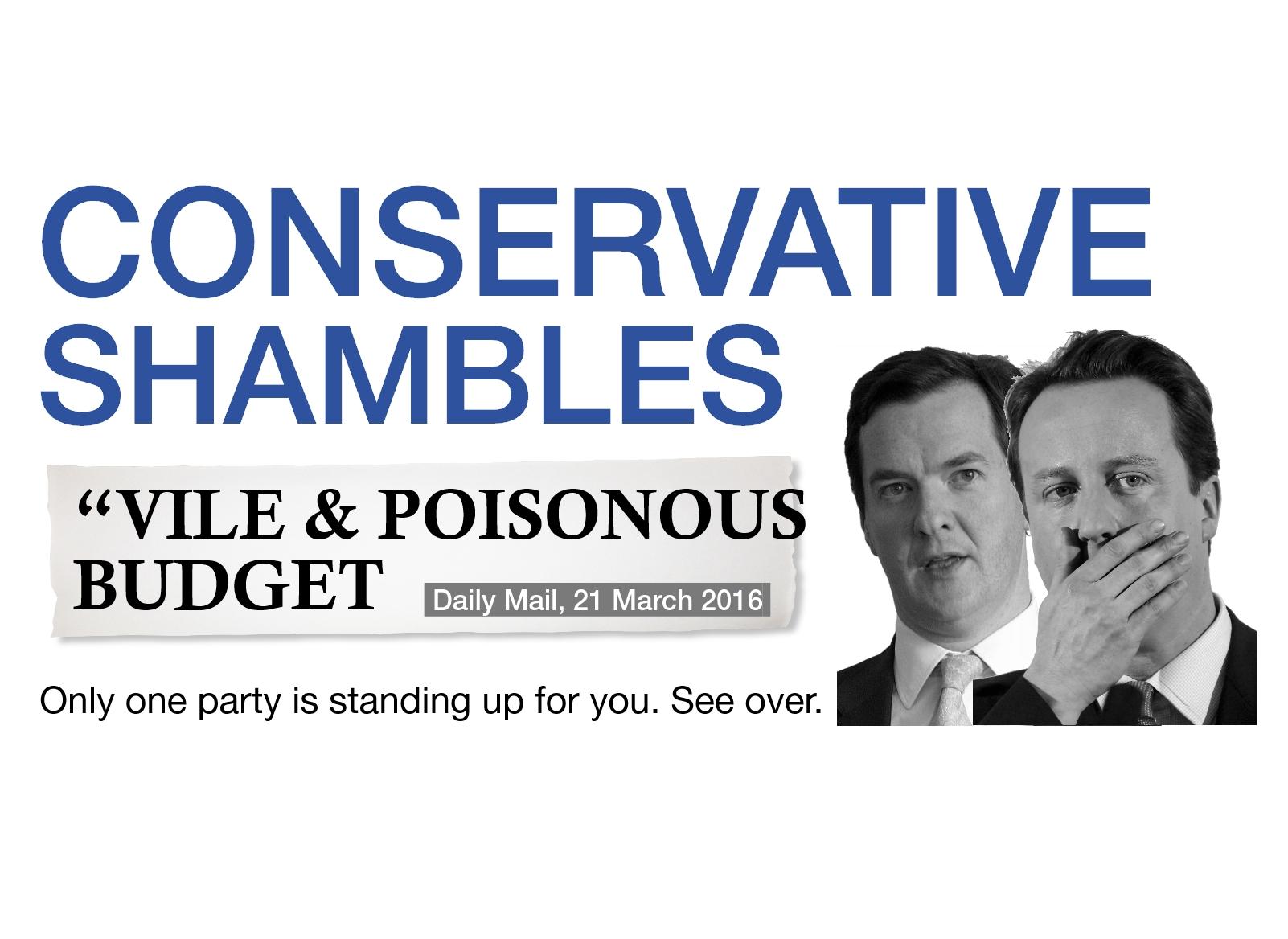 LDHQ: Tory Budget Attack Materials