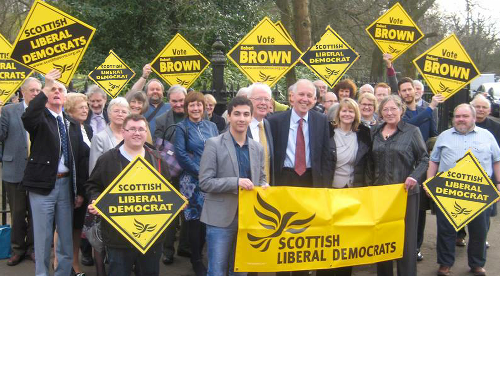 Lib Dems turn up the heat in Glasgow