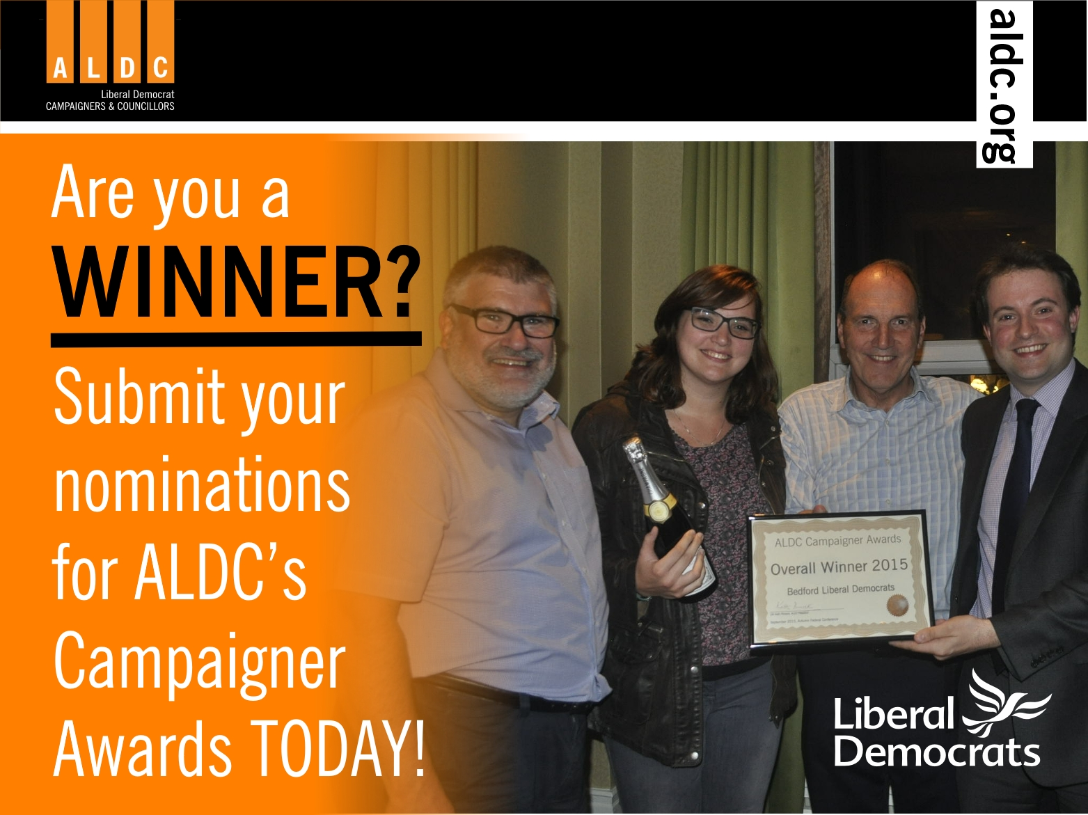 Haven't submitted a Campaigner Awards entry yet? Time is running out!