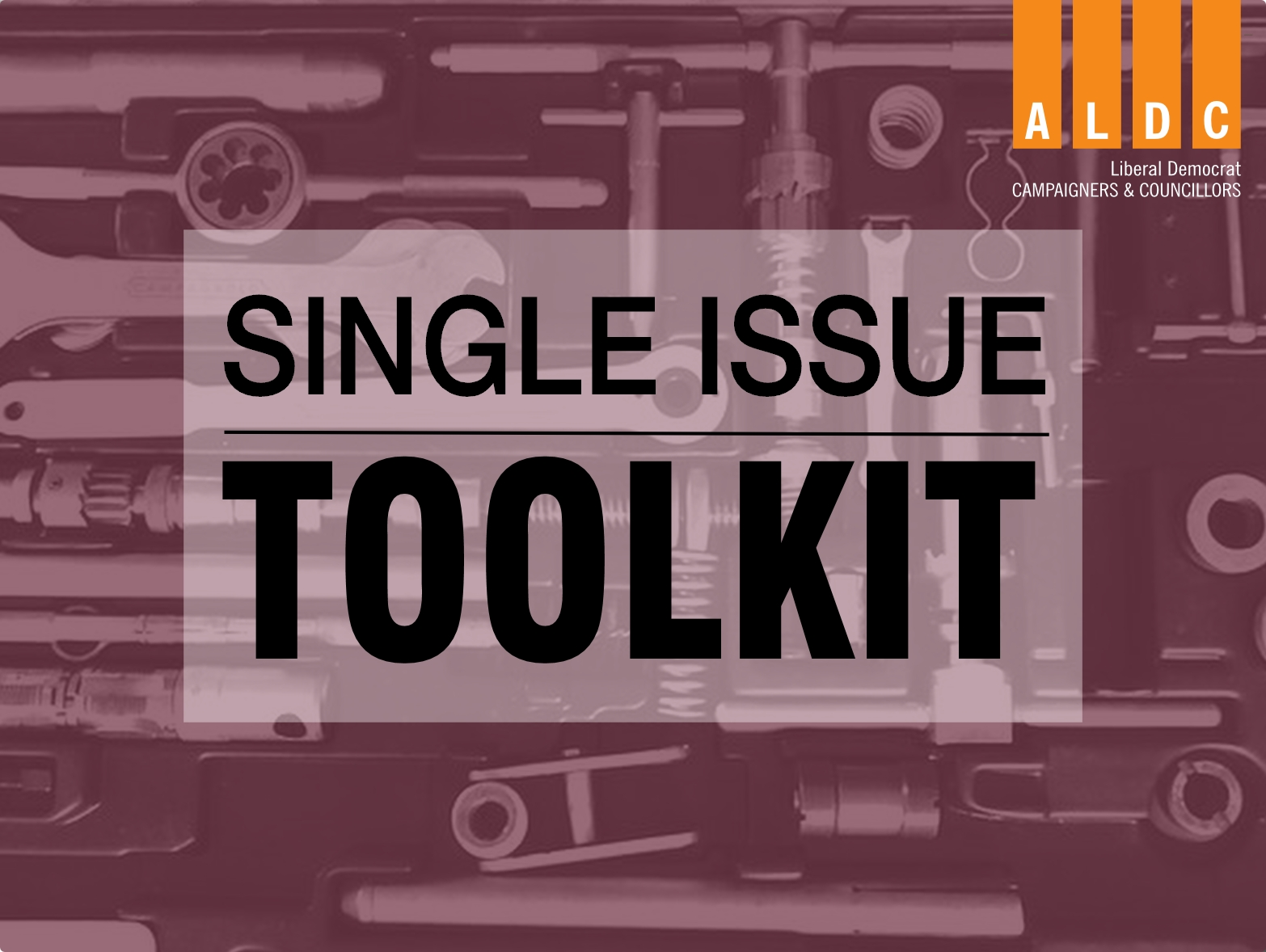 Toolkit: Single Issue campaign templates and advice