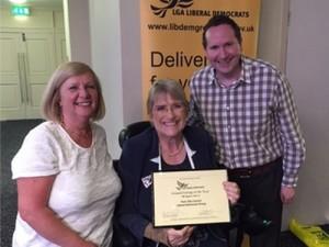 Last year's winners were the York Lib Dem Council Group