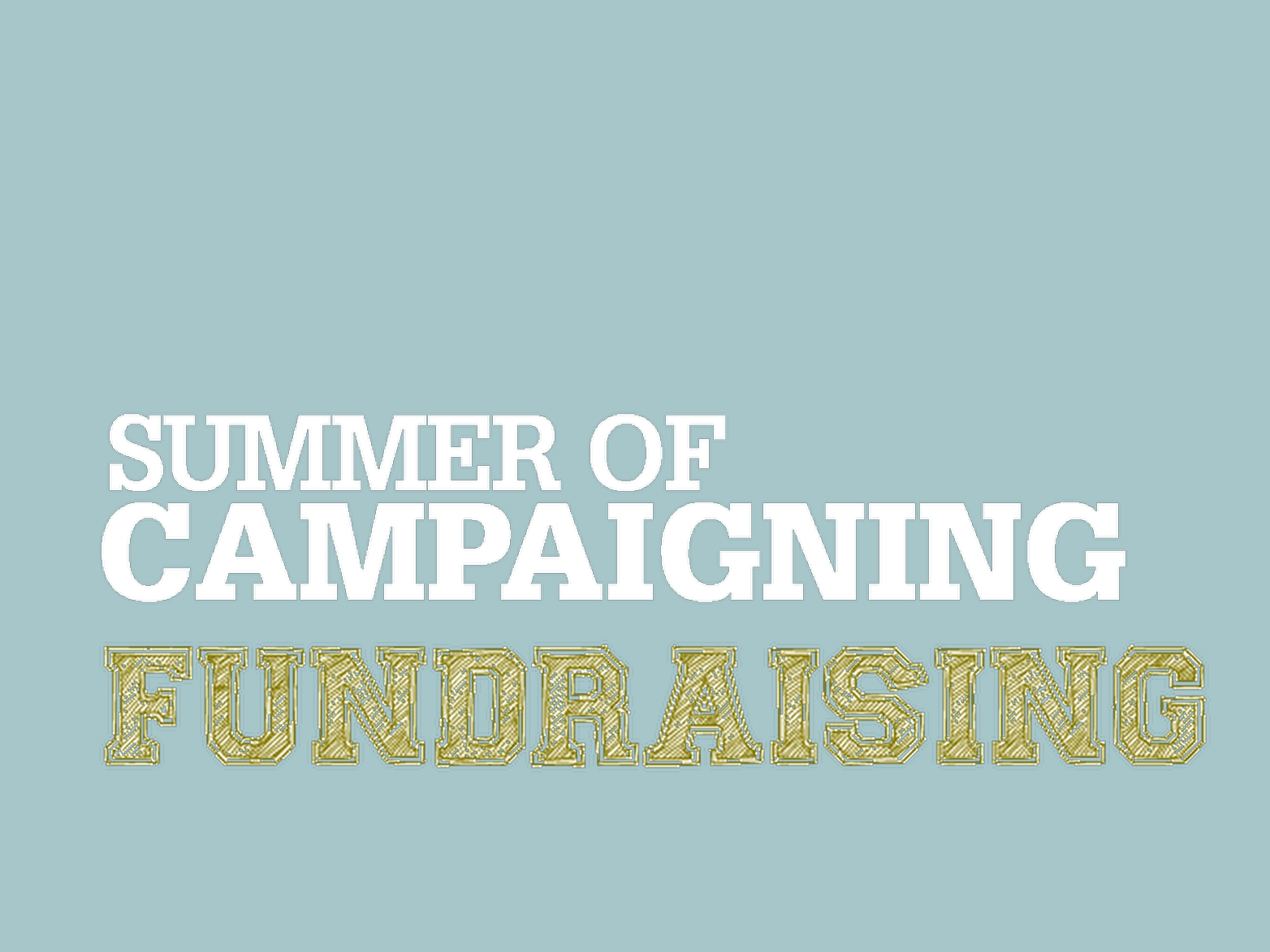 Fundraising: Thinking about the funds you need
