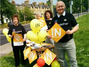 Oxford East activists campaign for #INTogether