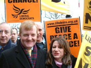 Liberal Democrats consistently opposed the invasion of Iraq in 2003
