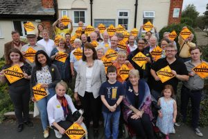 Witney by-election team