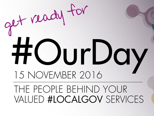 #OurDay – Celebrate the work of local government
