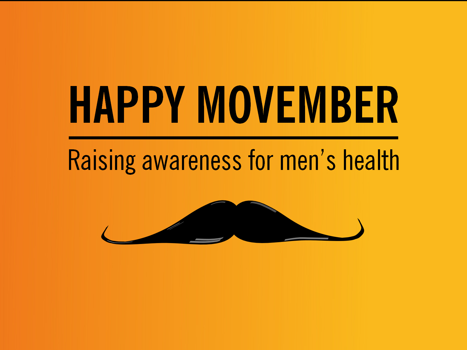 Happy Movember – More than just a moustache! (TEMPLATE MyCouncillor story)