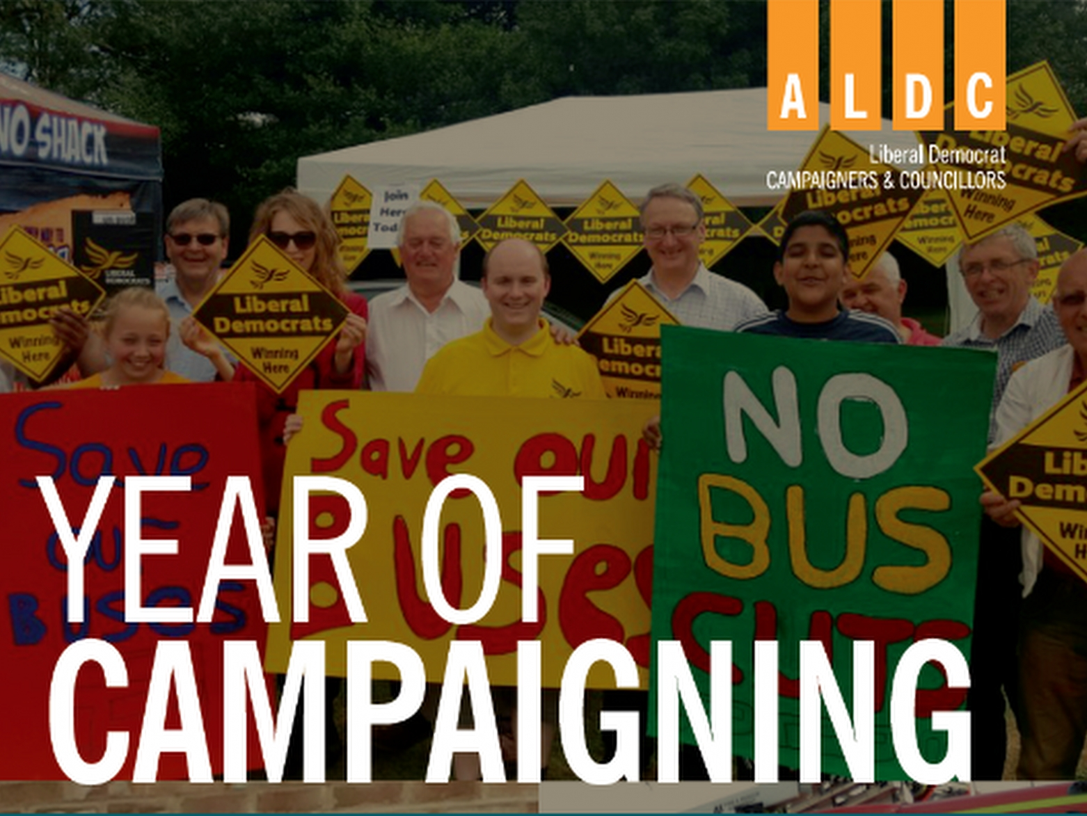 Year of campaigning – September