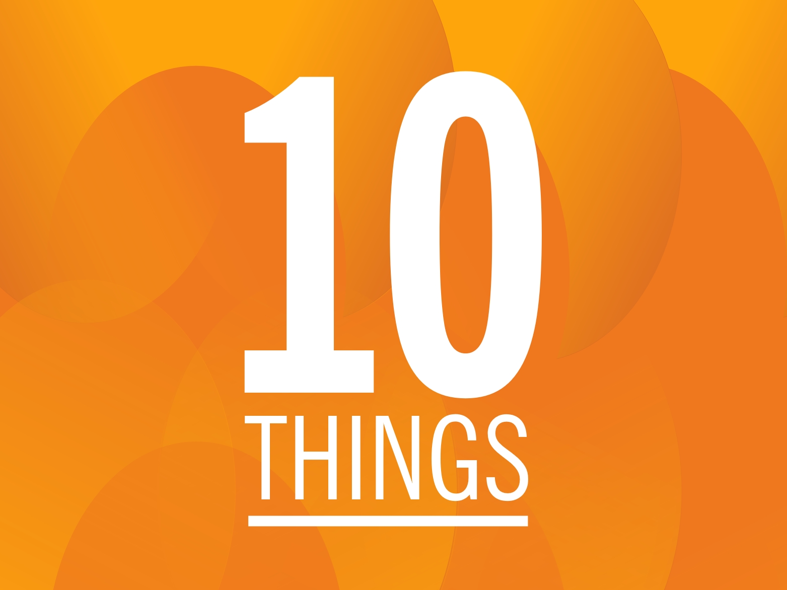 Top 10 things you may not have known that we provide for our members