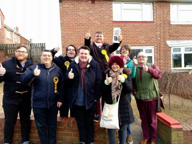 By-election Results 12th January 2017