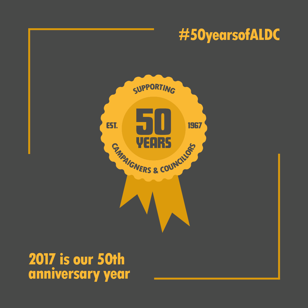 2017 is ALDC's 50th anniversary year