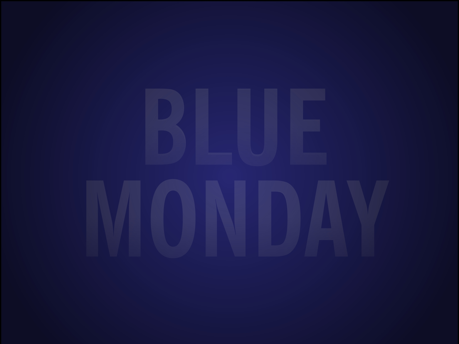 Blue Monday – Mental health is important and we need to talk about it