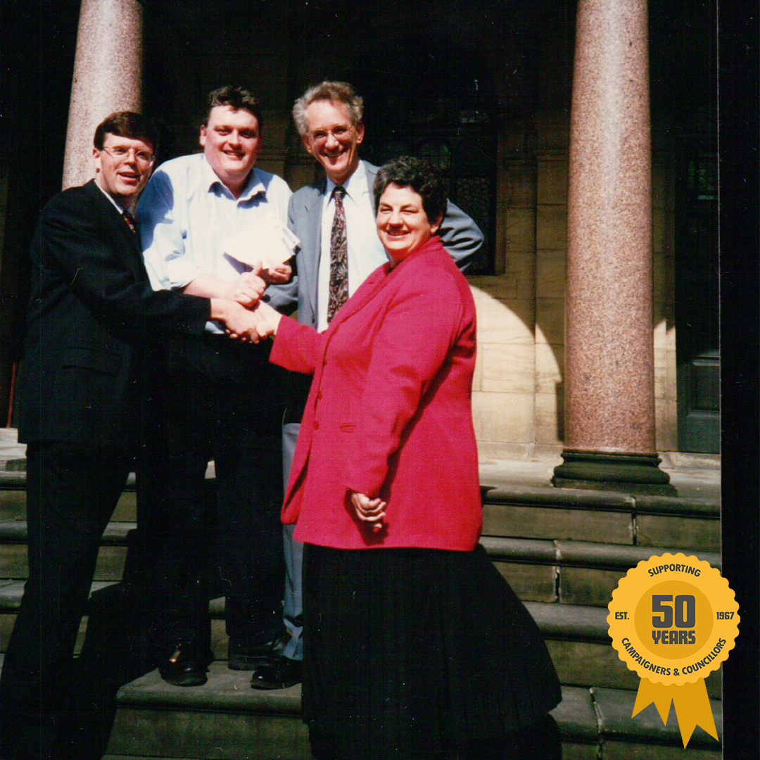 May 1997: three ALDC staff were elected to Parliament