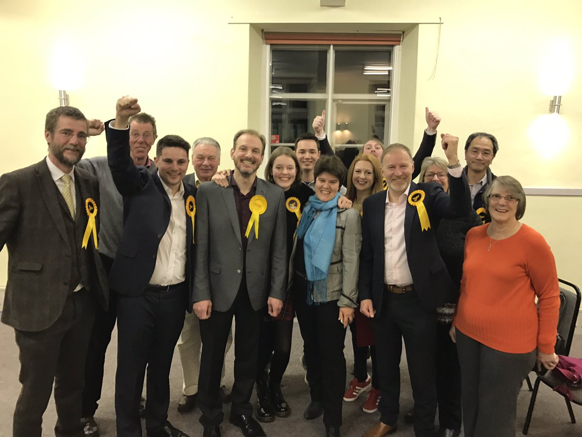By-election results 9th February 2017