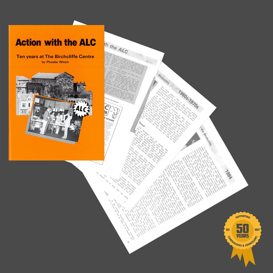 From 1987: Action with the ALC by Phoebe Winch