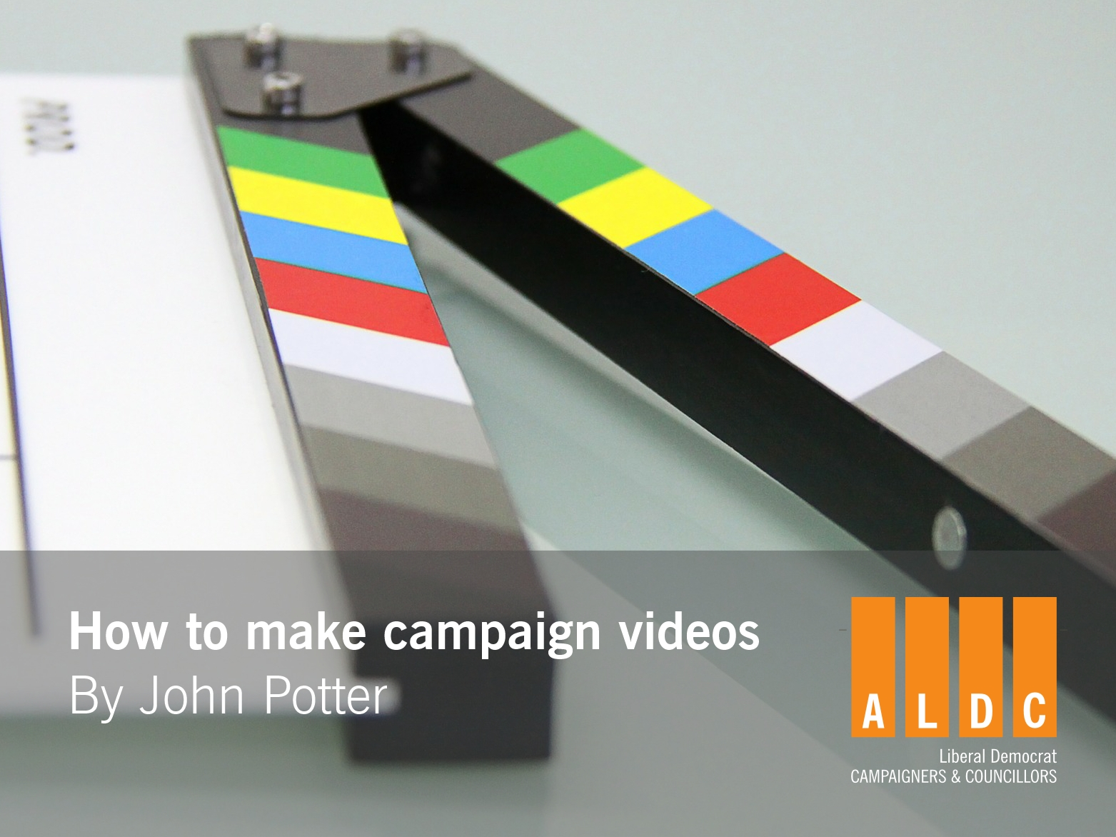 John Potter: How to make campaign videos