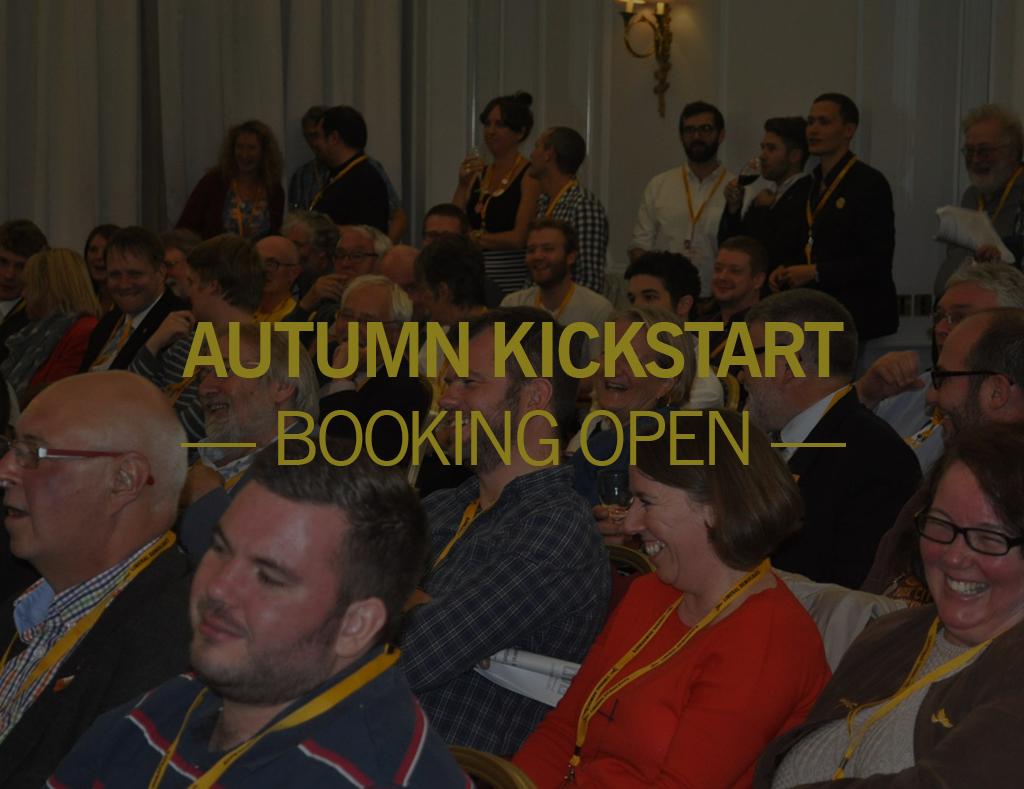 Kickstart Weekend, 24-26 November 2017
