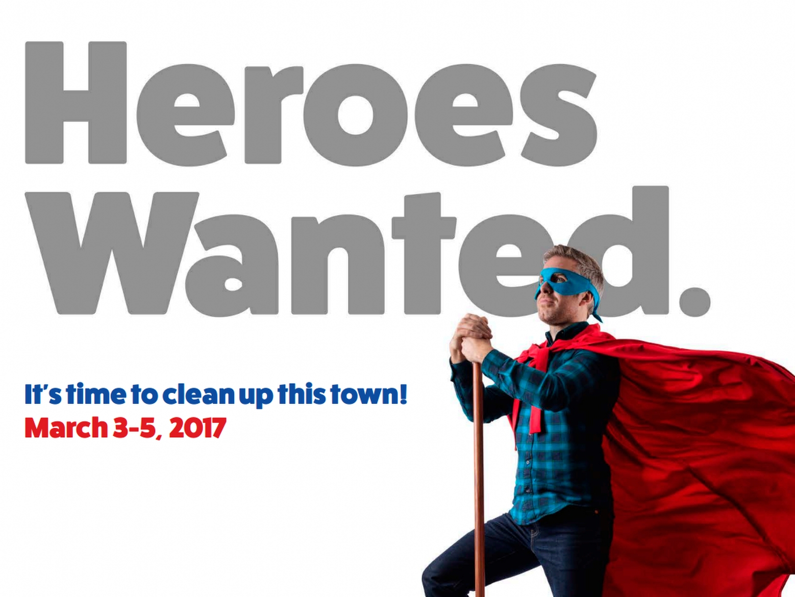 Sign up to 'The Great British Spring Clean'