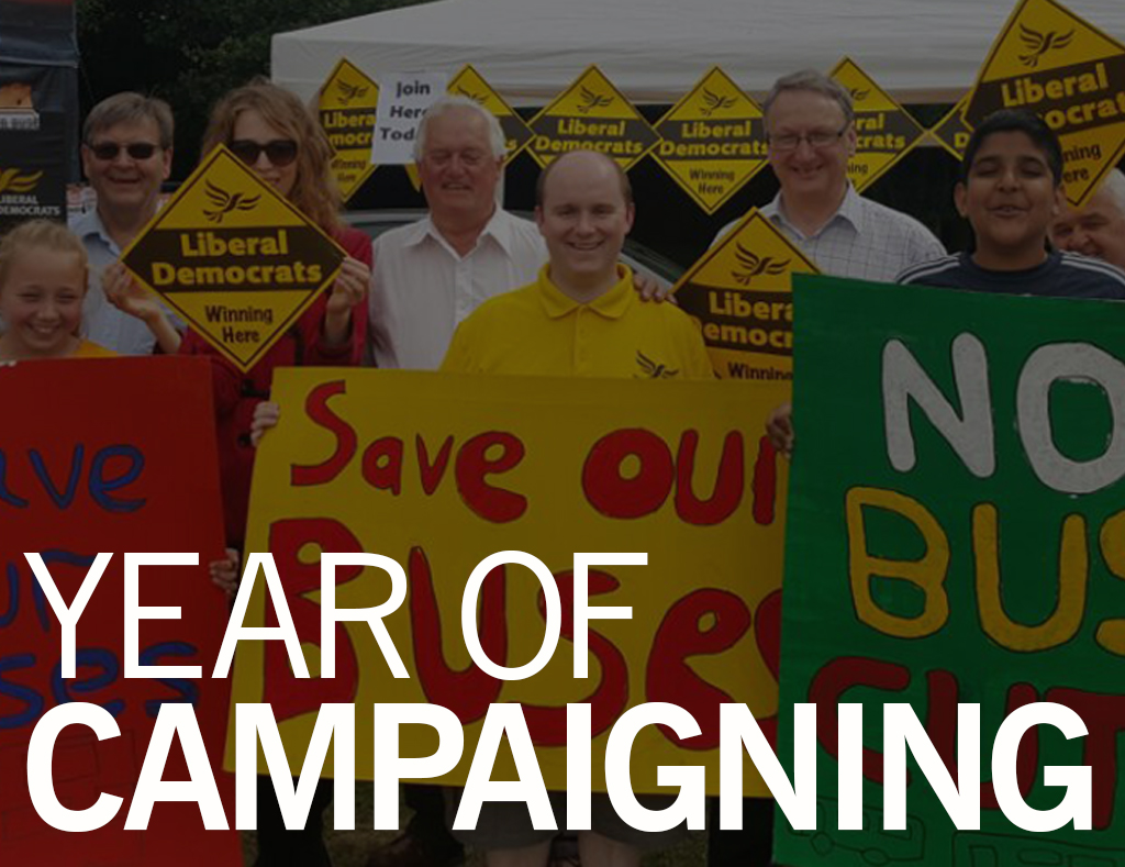 Year of Campaigning